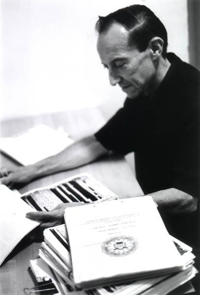 This photo shows the author reading through the newly released 1800 page FBI Einstein File. Jerome obtained access to virtually the full FBI file on the world